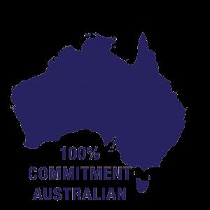 Australian commitment logo
