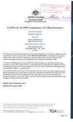 tga gmp certificate1